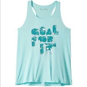 """Under Armour """"Goal For It"""" Tank Top"""